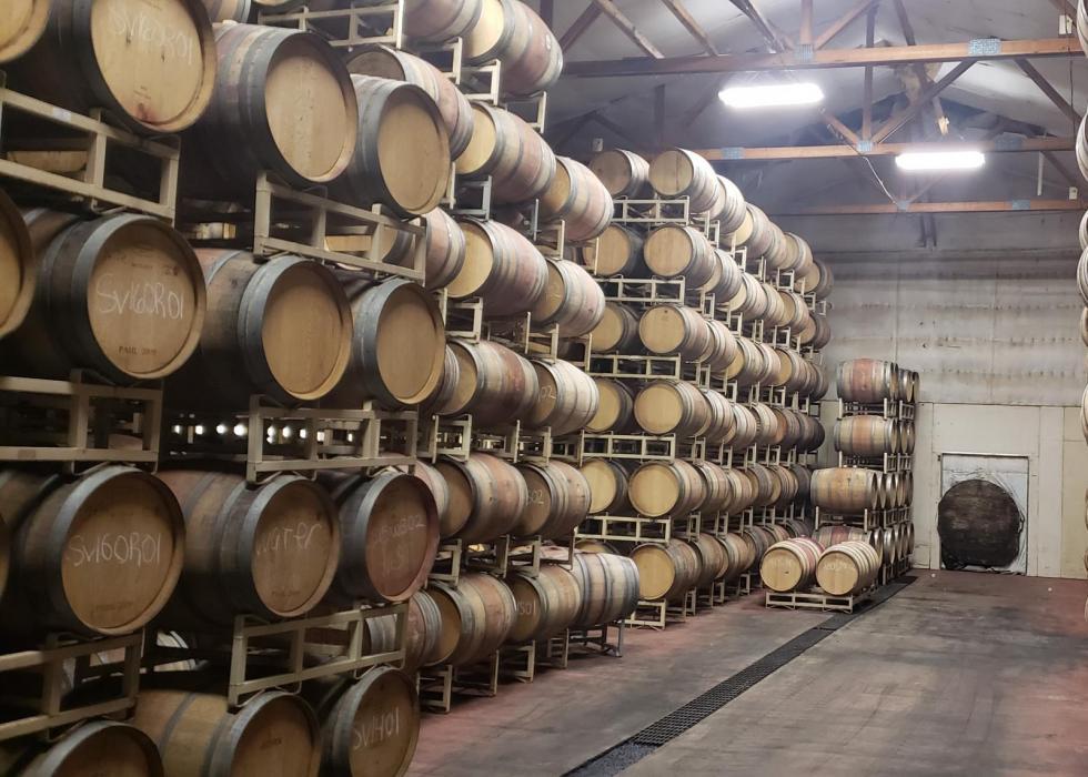 White Bluffs Vineyard & Winery Complex