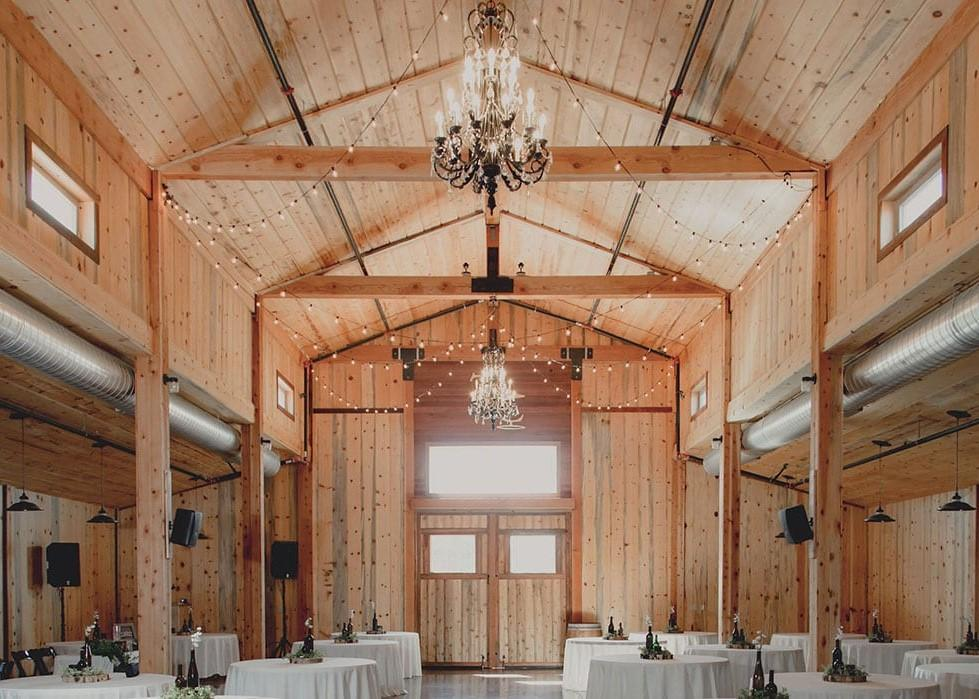 225 person event center ideal for weddings, private parties, and corporate events
